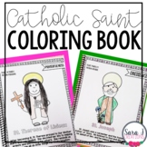 Catholic Saints Coloring Book