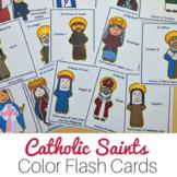 All Saints Day activities -  Catholic Saints Flash Cards