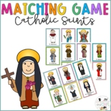 Catholic Saints Flash Cards -Memory Game- All Saints Day