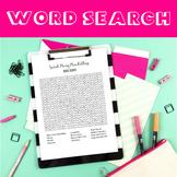 Catholic Saints - Mary MacKillop - Word Search