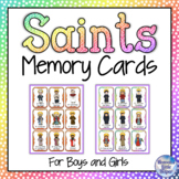 Catholic Saints Memory Card Game