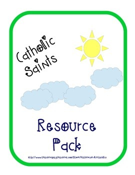 Catholic Saints Resource Pack