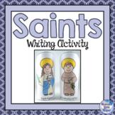 Catholic Saints Writing Activity