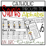Catholic Saints Through the Alphabet: an ABC Display for y