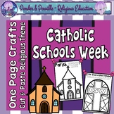 Catholic Schools Week: One Page Crafts