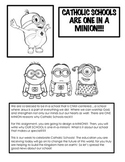 Catholic Schools Are One-In-A-Minion!!!  Catholic Schools' Week