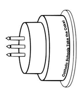 Catholic School's Week Acrostic Pages
