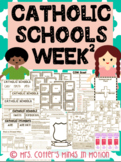Catholic Schools Week Activities 2
