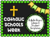 Catholic Schools Week: Bulletin Board Ideas and Student Templates