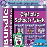 Catholic Schools Week Bundle - 5 Discounted Resources