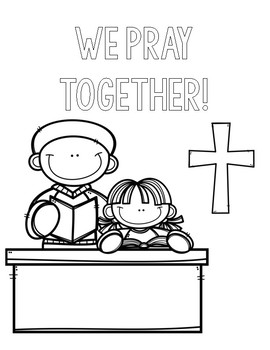 catholic schools week coloring pages - photo#5