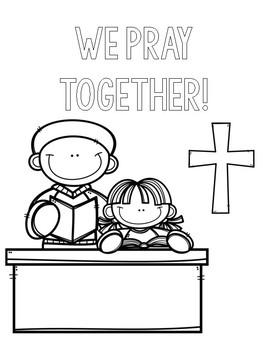 Catholic Schools Week Coloring