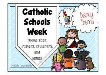 Catholic Schools Week - Disney Theme