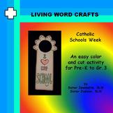 Catholic Schools Week Doorhanger for Pre-K to Gr.3