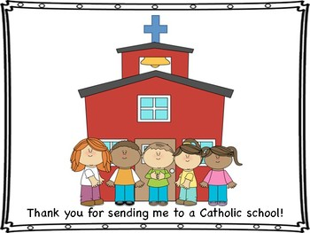 Catholic Schools Week Mini Book, Coloring Page/Certificate
