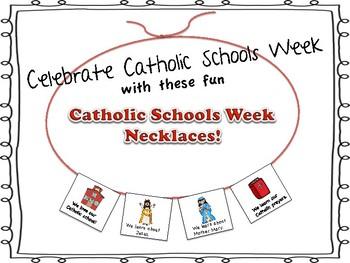 Catholic Schools Week Necklaces!