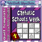 Catholic Schools Week Quilt