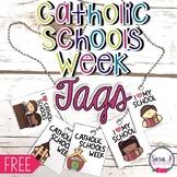 Catholic Schools Week Reward Tags