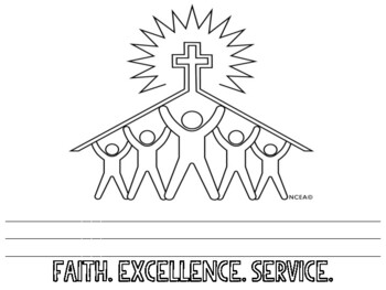 Catholic Schools Week Stationary Writing Papers