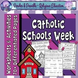 Catholic Schools Week Worksheets and Activities