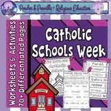 Catholic Schools Week (CSW) Worksheets and Activities