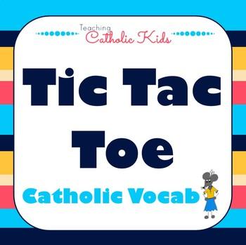 Catholic Sight Word Tic Tac Toe
