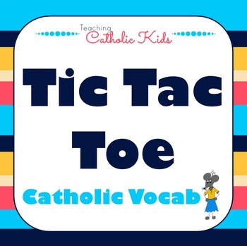 Catholic Sight Word Tic Tac Toe