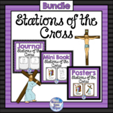 Catholic Stations of the Cross Bundle for Lent