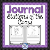 Catholic Stations of the Cross Journal for Lent
