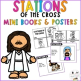 Lent Catholic Stations of the Cross Mini Book and Posters