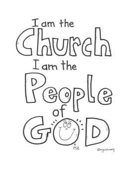 Catholic - We are the Church, the people of God