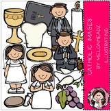 Melonheadz: Catholic clip art