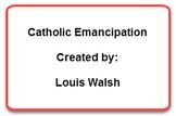 Catholic emancipation