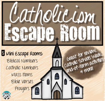 Catholicism Escape Room for Religion Classes