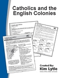 Catholics and the English Colonies
