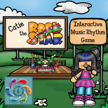 Catie the Rock Star! Interactive Rhythm Game