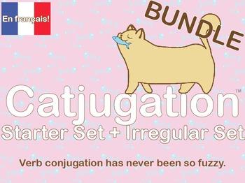 French Catjugation: Bundle Starter and Irregular Verb Conjugation Set