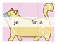 French Catjugation: Single Verb FINIR Conjugation