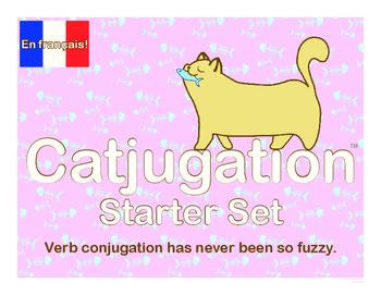 French Catjugation: Verb Conjugation Starter Set
