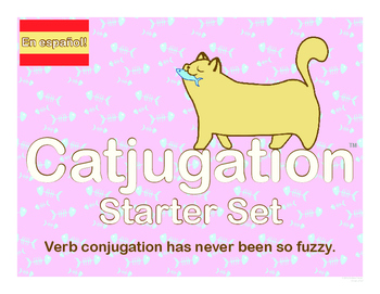 Spanish Catjugation: Verb Conjugation Starter Set