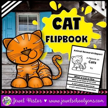 Cat Science Activities (Cat Research Flipbook)