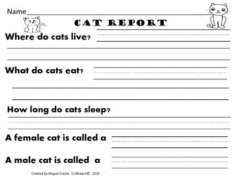 All about cats writing prompts graphic organizers diagram by all about cats writing prompts graphic organizers diagram ccuart Images