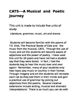 Cats- A Magical Musical Tour