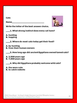 Cats Nature's Children