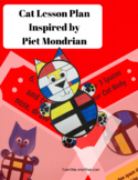 Cats - Art Lesson Plan Inspired by Piet Mondrian