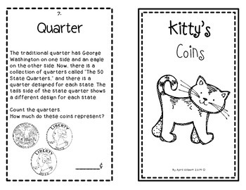 Cats & Canines Count Coins: A 1st and 2nd Grade Money Pack