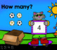 Cats Count Pictures to Five - Math Digital Task Cards for Special Education