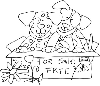 Cats & Dogs Coloring Pages - 26 Pages!