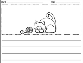 Cats & Dogs Writing Packet