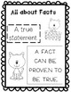 Cats Fact and Opinion Center / Lesson